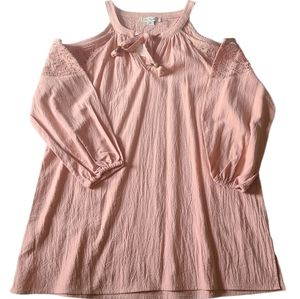 Simply Noelle  Give You The Cold Shoulder Blouse